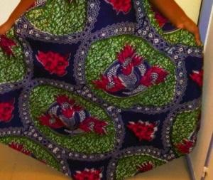 Une jupe parapluie dans le même tissu