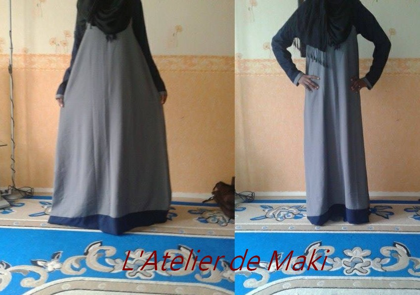 comment coudre abaya